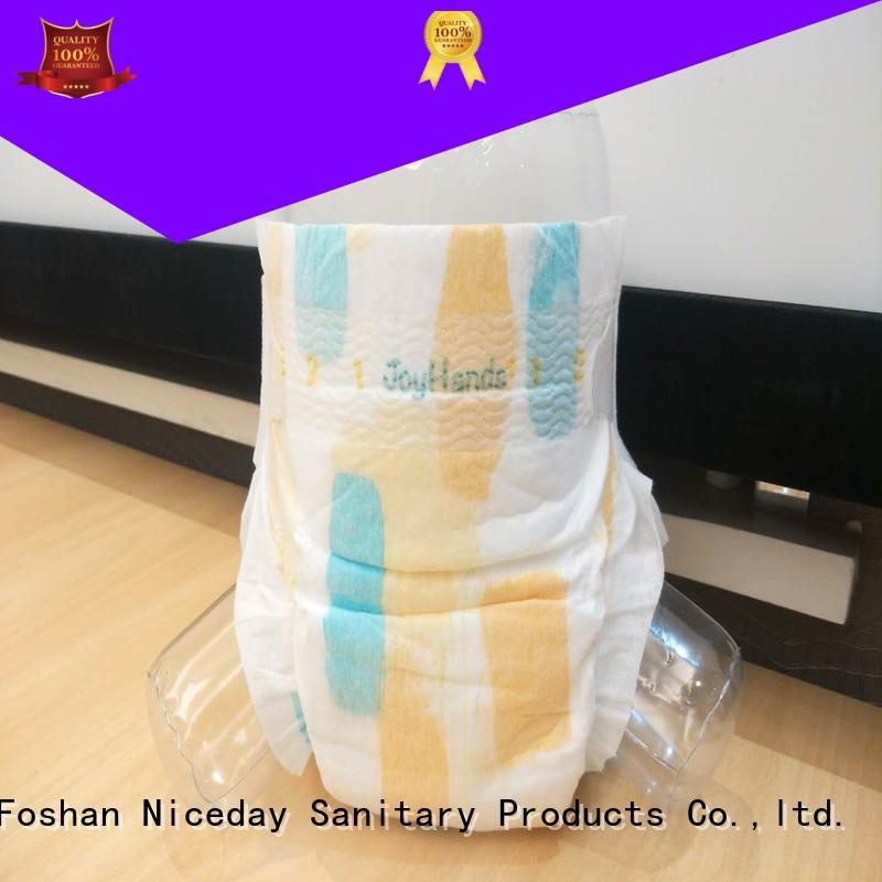 Niceday disposable baby diaper dry for baby girl