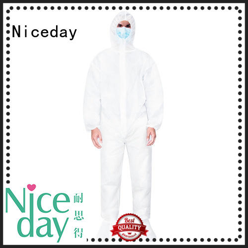 great disposable chemical coveralls supplier for hospital
