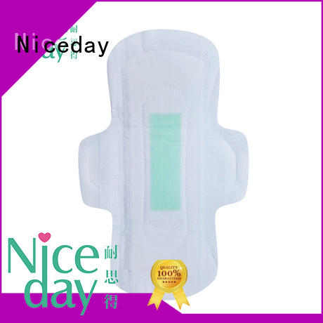 Niceday nonwoven girls pad sanitary for female