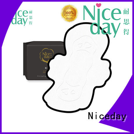 Niceday sanitary female hygiene products fabric for female