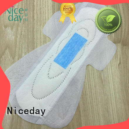 Niceday breathable natural feminine pads sleeping for period