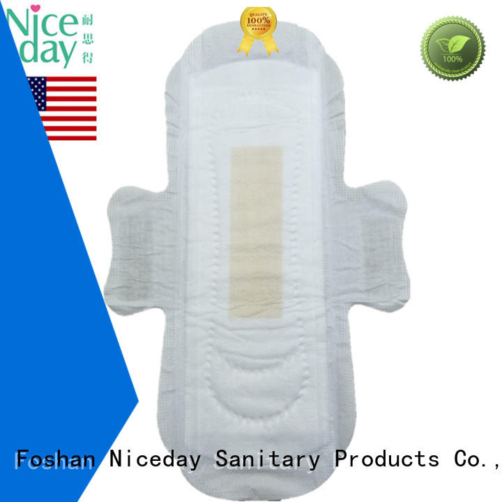 OEM sanitary napkin daytime lady care biodegradable anion sanitary pad hot sell in USA NDGenial-1-2-Niceday