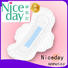 Niceday black sanitary pad companies for female
