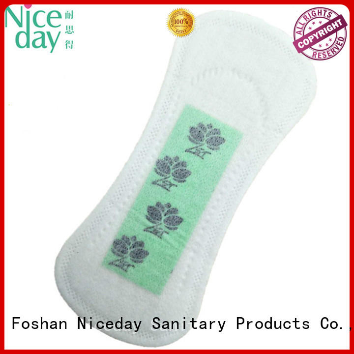 Niceday nonwoven women's sanitary pads woven for ladies