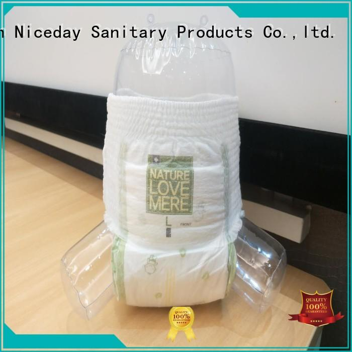 Niceday leak-proof baby nappies organic for baby boy
