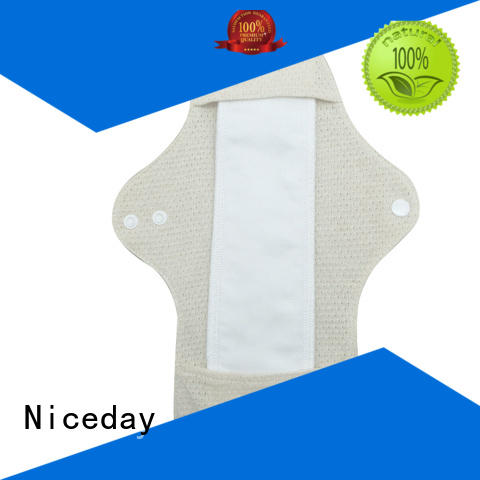 Niceday sanitary waterproof sanitary pads for ladies