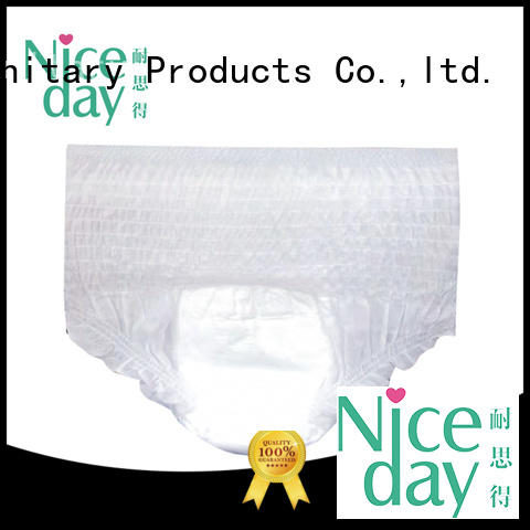 Niceday oem adult diaper ask for absorption