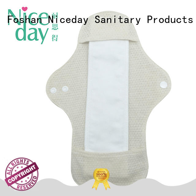 Niceday menstrual women's hygiene products cotton for girl