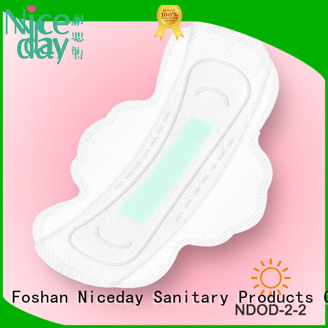 Niceday purple thin pads for periods unbranded for ladies
