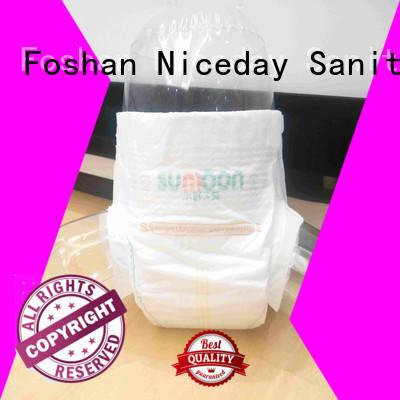 Niceday sleepy low cost sanitary napkins natural for baby