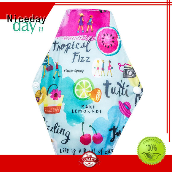 menstrual feminine napkin colorful quality for girl