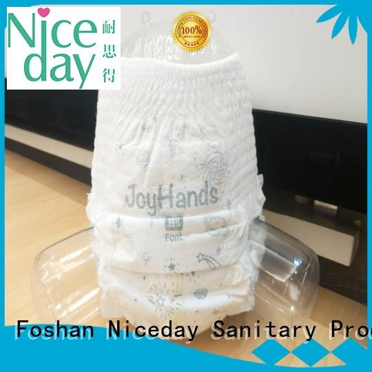 Niceday biodegradable best newborn nappies small for baby boy