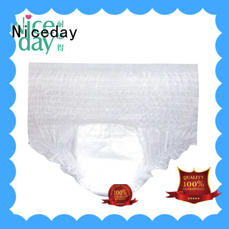 Niceday oem adult pull up diapers ask for absorption