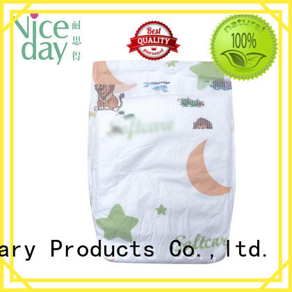 Niceday biodegradable best newborn nappies dry  for baby girl