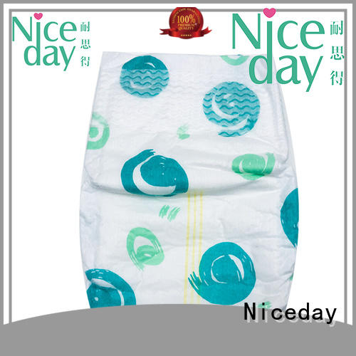 Niceday odm baby diaper supplies accept for baby girl