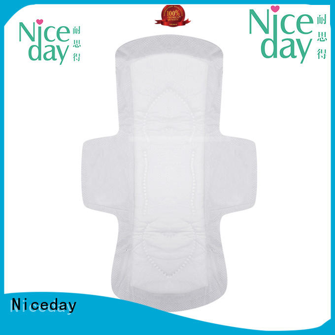 Niceday luxury ladies pad material for girls