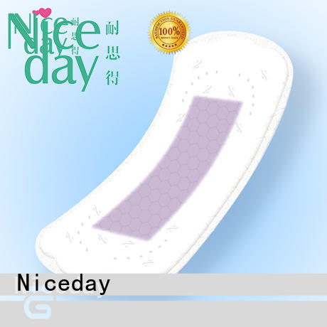 Competitive Price anion Panty Liner with high quality cotton maternity pads Manufacturer NDYH-1-1-Niceday
