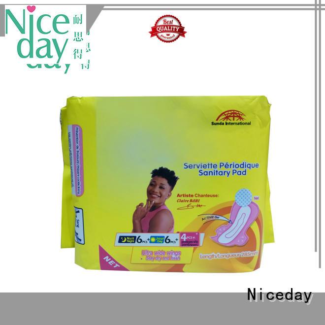 Niceday breathable sanitary pads price leak for ladies