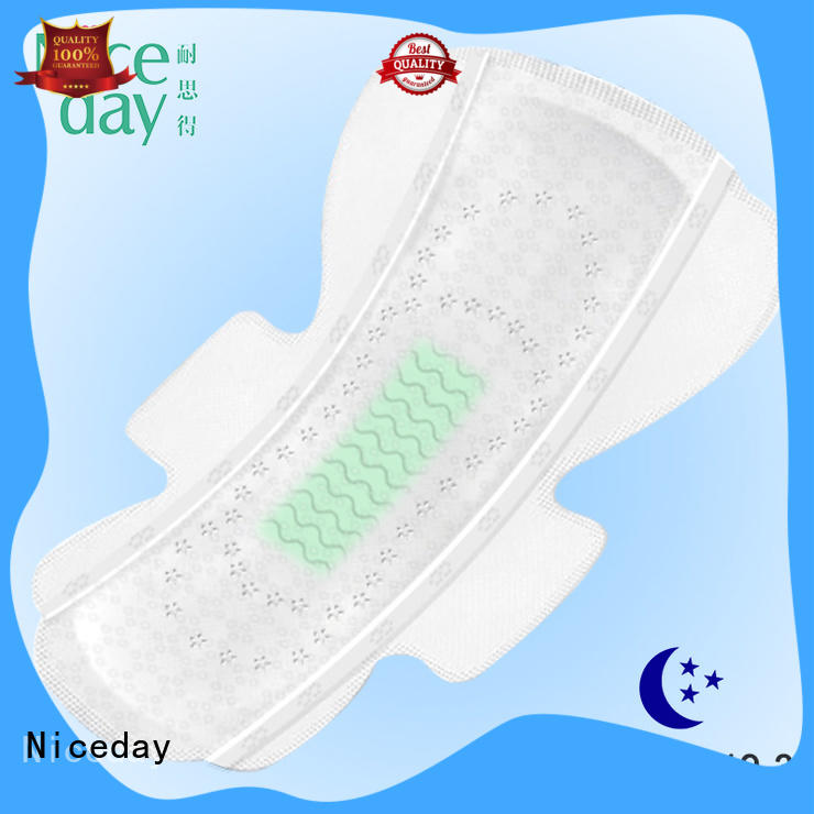 Niceday comfortable menstrual pads care for feminine