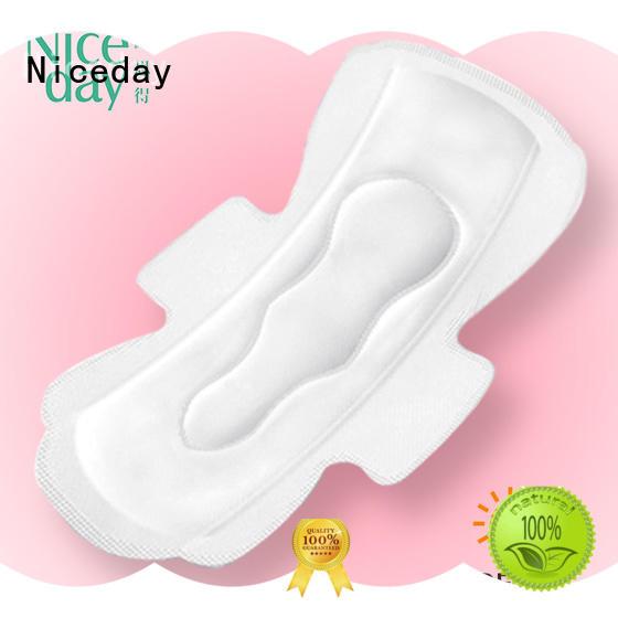 Super wings free samples sanitary napkin PE film raw material ladies sanitary pads reusable menstrual pad korea NDF-1-2-Niceday