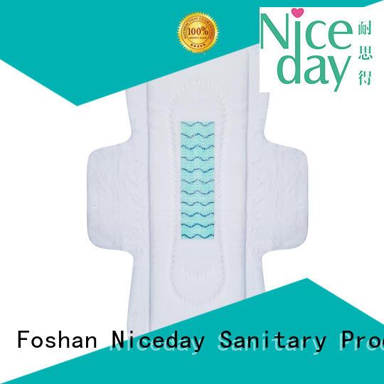 luxury natural feminine pads material korea for period