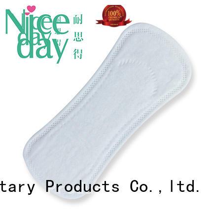 material ultra thin sanitary napkin brand for girls Niceday