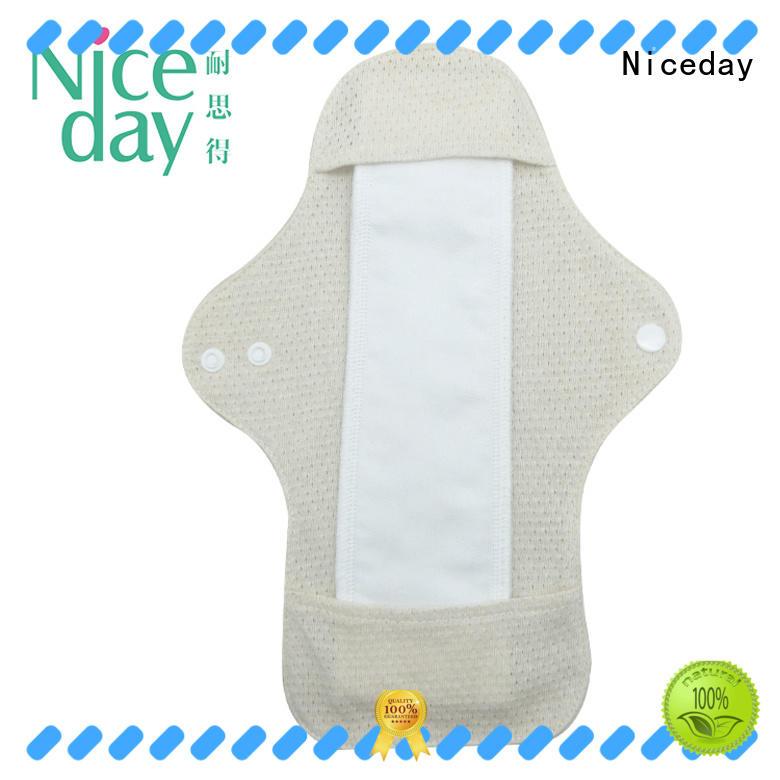 Niceday sanitary reusable sanitary napkins feminine for girl
