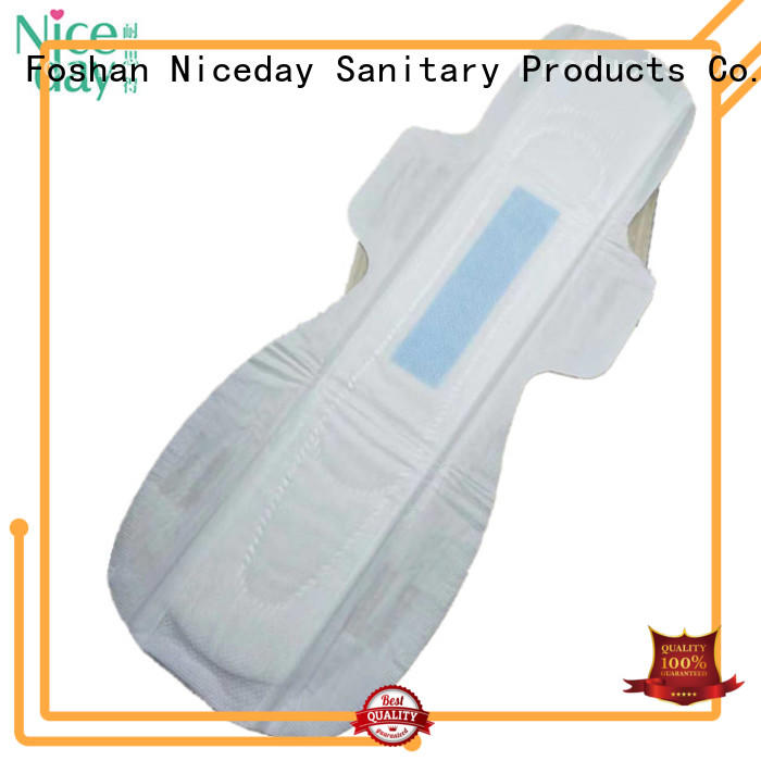 Niceday purple period pads leakage for period