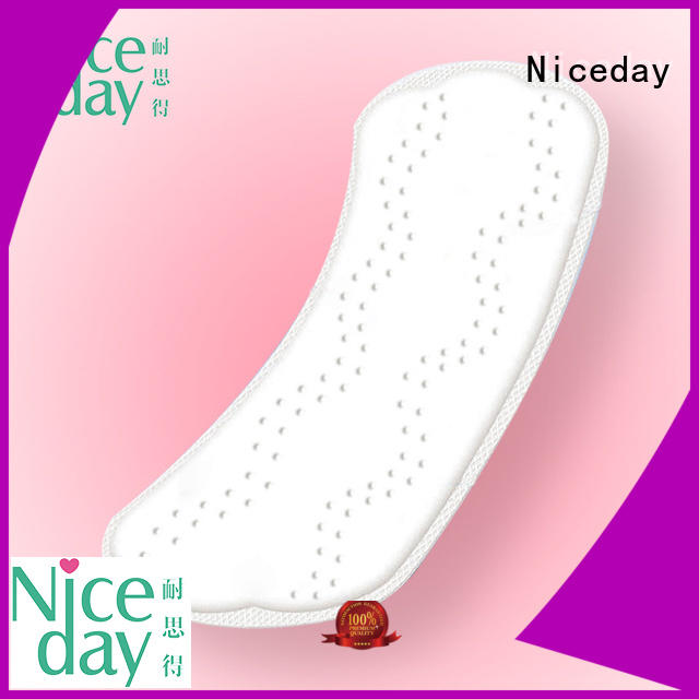 Niceday black menstrual pads products for ladies