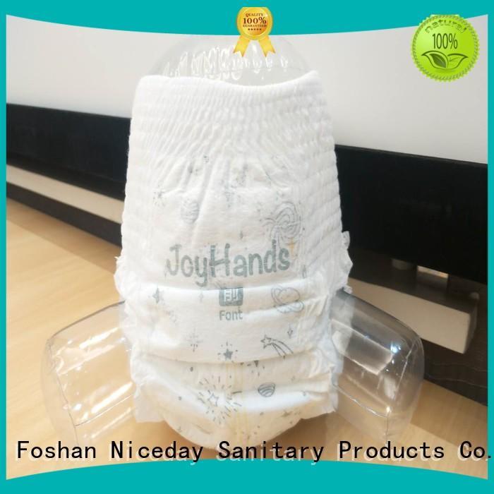 Niceday dry low cost sanitary napkins premium for baby