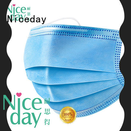 Niceday disposable face mask supplier for pollution prevention