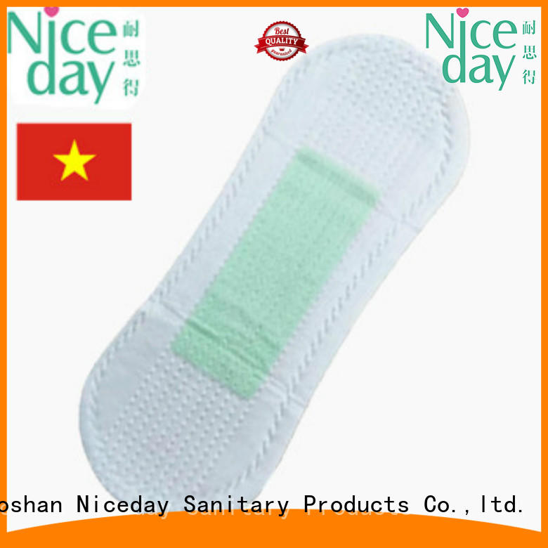 Niceday absorbent napkin pad size for feminine