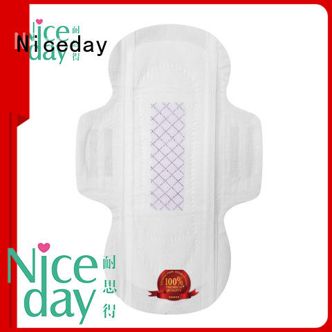 Niceday absorbent hypoallergenic sanitary pads perfume for period