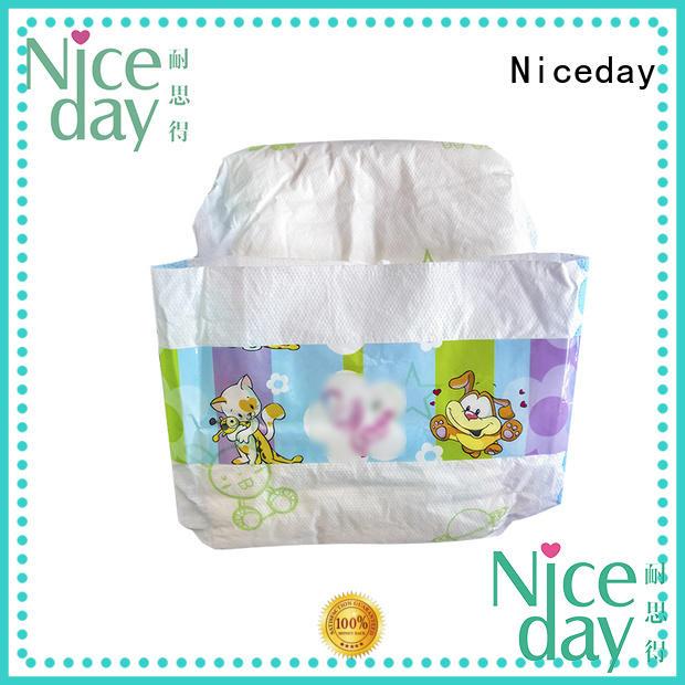 Niceday leak-proof best newborn nappies line for baby girl
