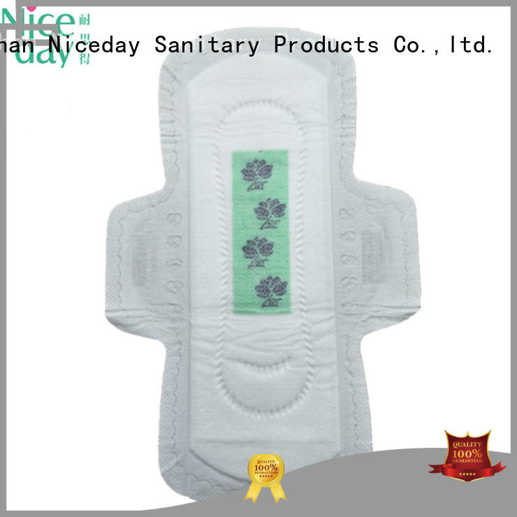 long ladies napkin perforated for period