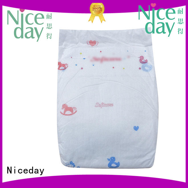Niceday brand best baby diapers softcare for baby girl