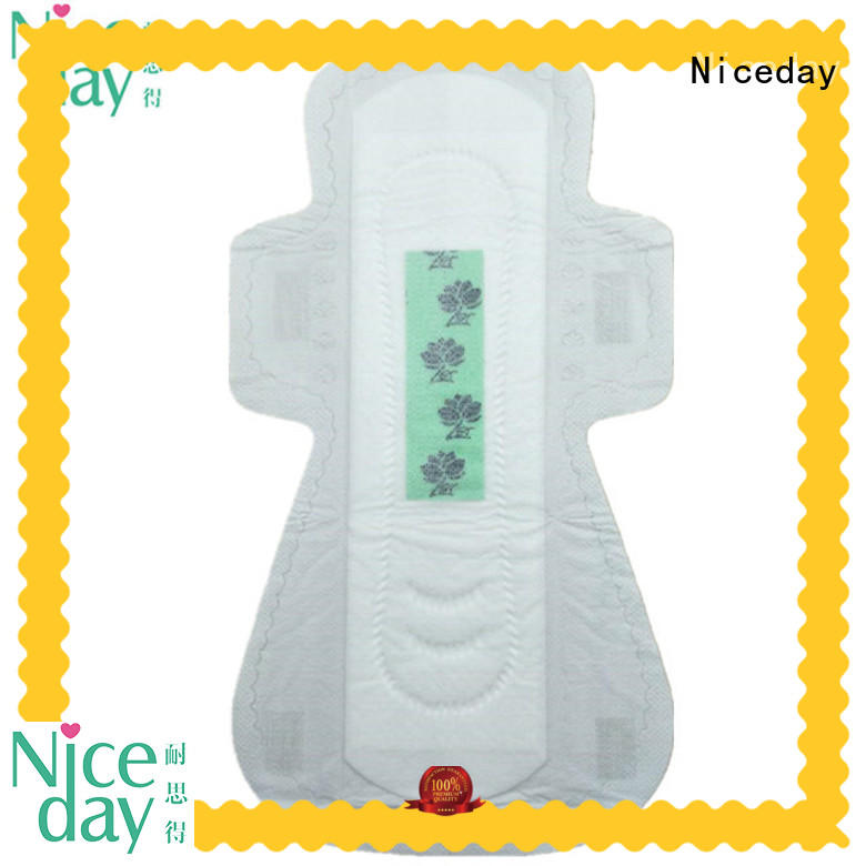 Super Absorbent adult sanitary napkins anion softcare biodegradable sanitary pads with factory price ND20181-26-3-Niceday