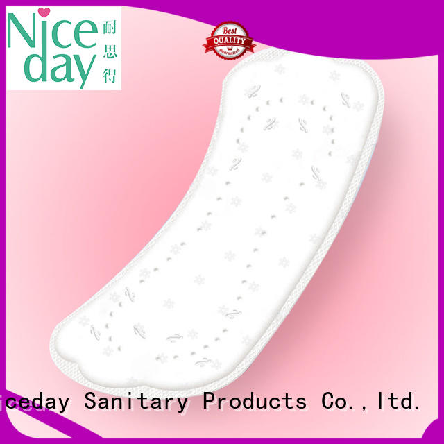 Niceday lady disposable sanitary napkin biodegradable for women