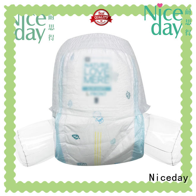 Niceday odm newborn baby diapers organic for baby girl