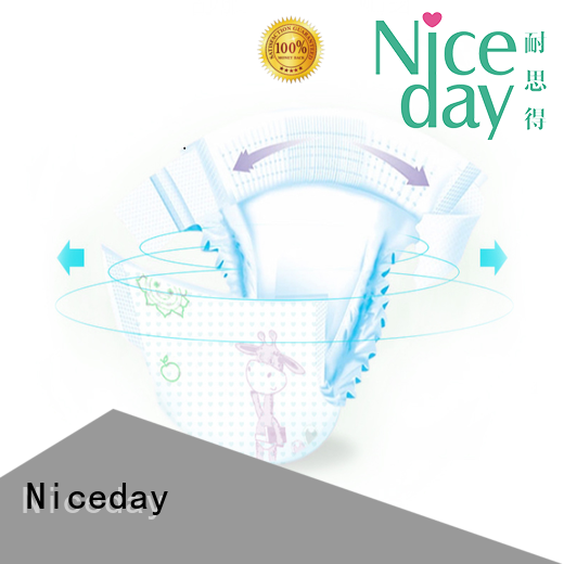 Niceday breathable best baby diapers sale for baby girl