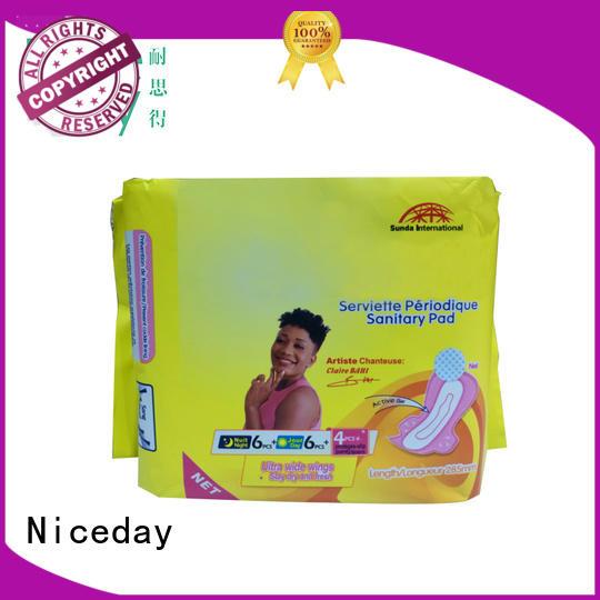 quality women's sanitary pads napkin towel for girls