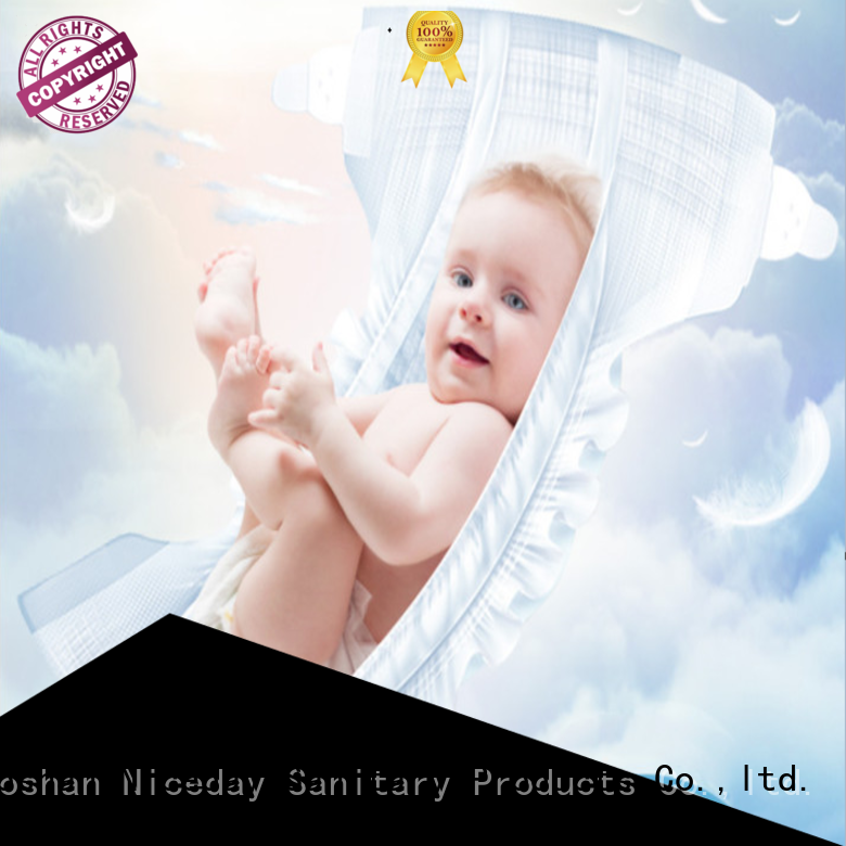 Niceday odm free baby diapers quality for baby boy