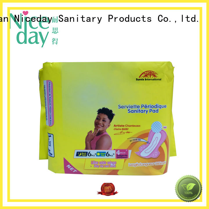 Niceday brand best sanitary pads cost for female