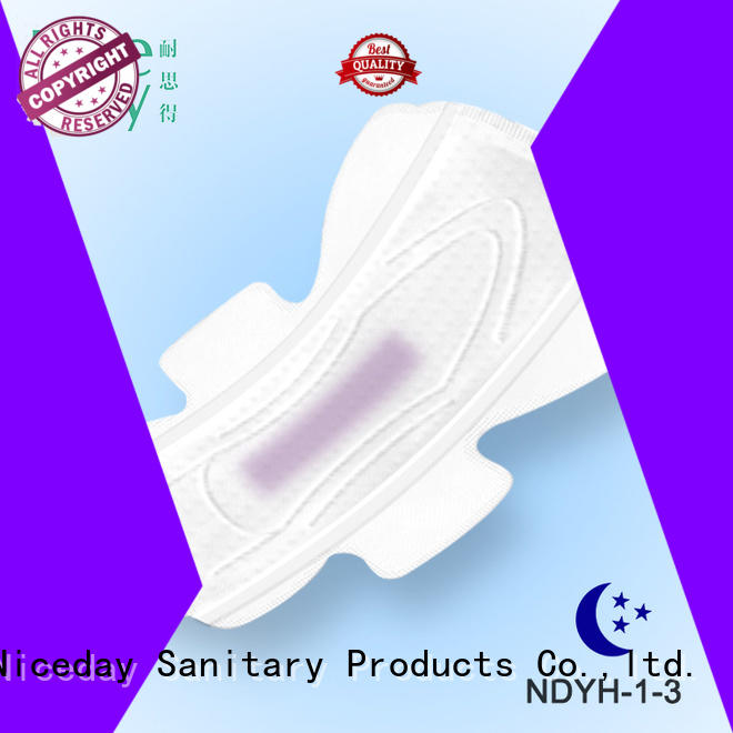 Niceday selling disposable sanitary napkin woven for feminine