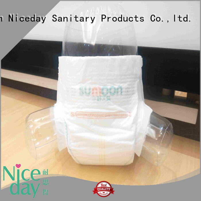 Niceday organizer low cost sanitary napkins natural for baby