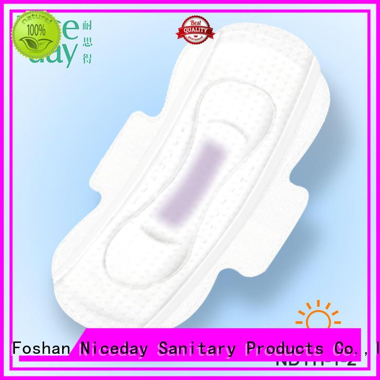 Niceday color menstrual pads sleeping for female