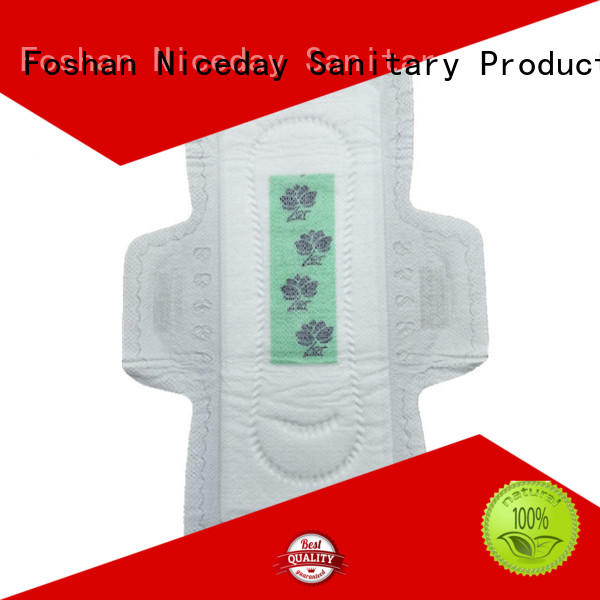 Niceday high-end best napkin pads anion for girls