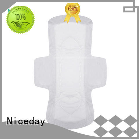 Niceday quality period pad use wings for girls