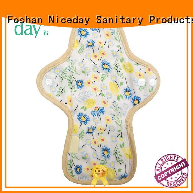 Niceday cotton menstrual pads padsdiapers for girl
