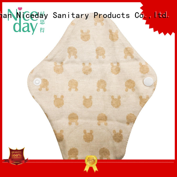 Niceday washable reusable feminine pads hygiene for girl